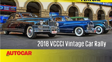 2018 VCCCI Vintage and Classic Car Rally video