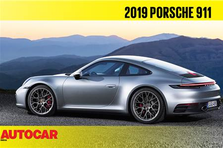 2019 Porsche 911 first look video