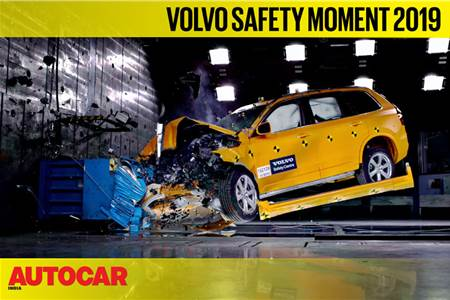 Volvo Safety Moment 2019 video