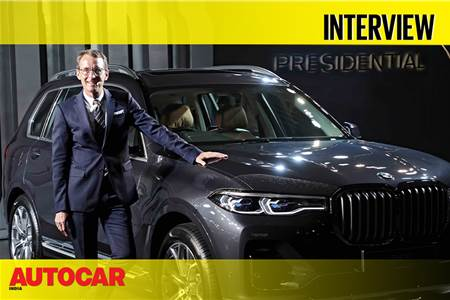 Hans-Christian Baertels - BMW India President Interview video