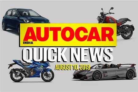 Quick News video: August 10, 2019