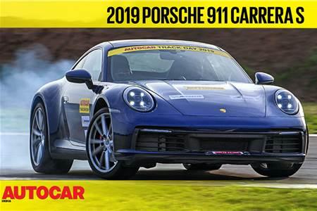 HOT LAP: Porsche 911 Carrera S Autocar India Track Day 2019 video