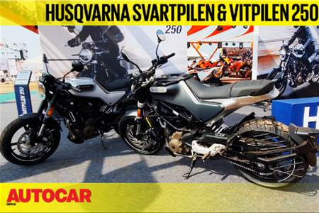 Husqvarna Svartpilen 250, Vitpilen 250 first look video