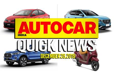 Quick News video: December 28, 2019