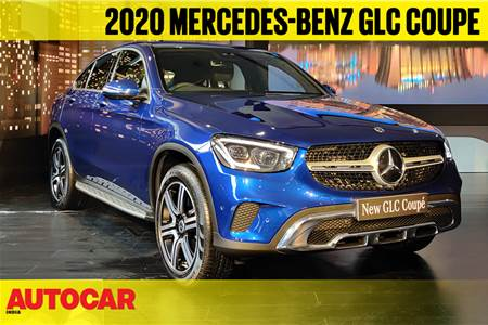 2020 Mercedes-Benz GLC Coupe facelift first look video