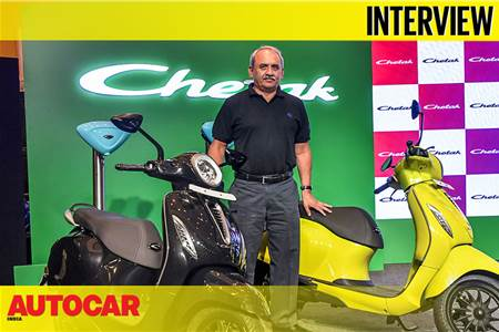 Rakesh Sharma, Executive Director Bajaj Auto interview video