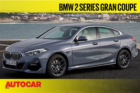 BMW 2 Series Gran Coupe first look video