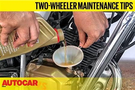 5 essential tips to maintain your two-wheeler at home