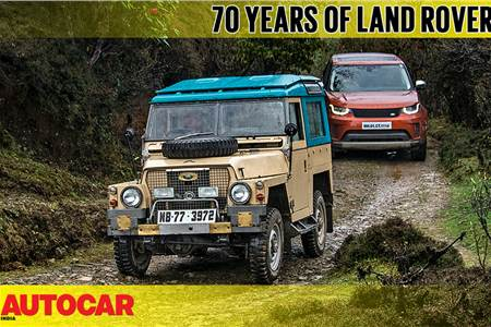 70 Years Of Land Rover drive video