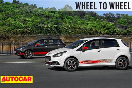 Drag Race: Fiat Abarth Punto vs 170hp Pete's Abarth Punto