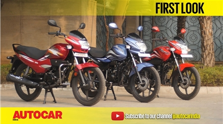 Hero Super Splendor, Passion Pro & Passion XPro first look video