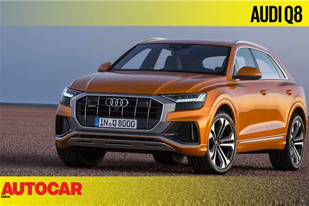 Audi Q8 first look video
