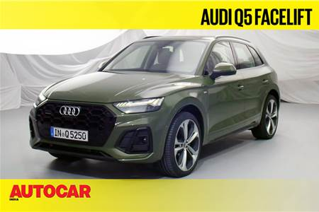 2021 Audi Q5 facelift first look video