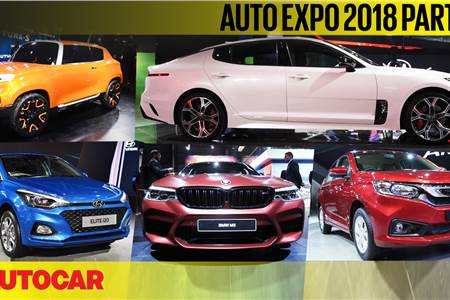 Auto Expo 2018 video report part 1 - Cars