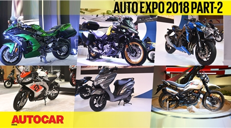 Auto Expo 2018 video report part 2 - Bikes