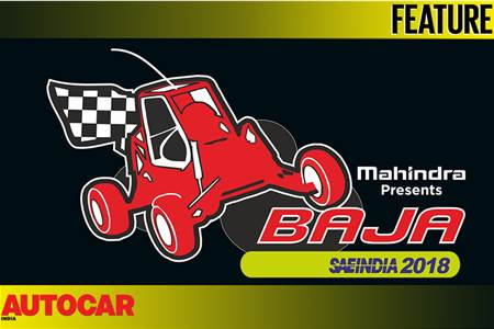 Mahindra Baja SAEIndia 2018 video
