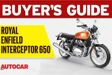 Royal Enfield Interceptor 650 buyer's guide video