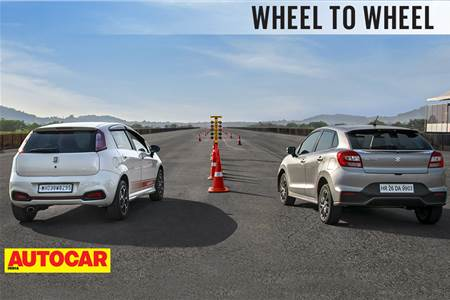 Drag Race: Fiat Abarth Punto vs Maruti Baleno RS