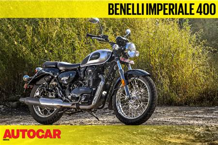 Benelli Imperiale 400 walkaround video