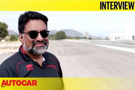 Dilbagh Gill, CEO & Team Principal, Mahindra Racing interview video