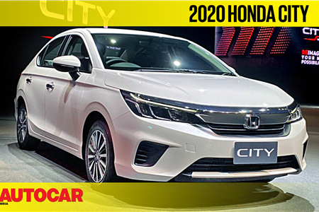 2020 Honda City first look video