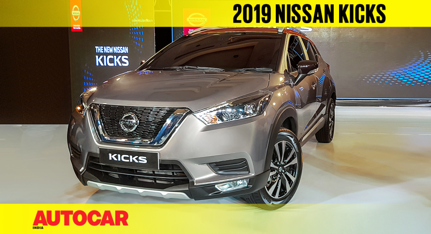 2019 India-spec Nissan Kicks first look video