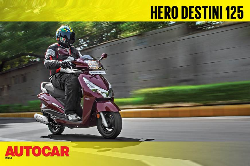 2018 Hero Destini 125 first ride video review