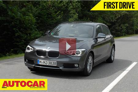 2013 BMW 116i, 118d video review