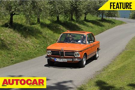 BMW 2002tii classic drive feature