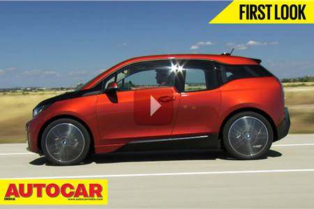All New BMW i3 Electric Hatchback | First Look Video