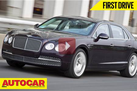 New 2014 Bentley Flying Spur video review