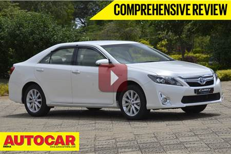 New Toyota Camry Hybrid video review