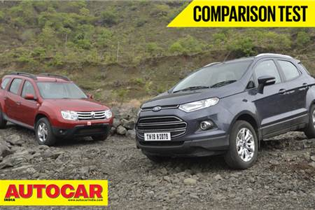 Ford EcoSport vs Renault Duster video