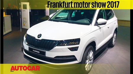 2017 Skoda Karoq walkaround video