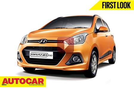 All New Hyundai Grand i10 first look video