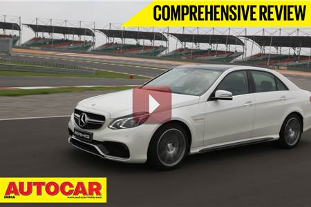Mercedes E 63 AMG video review