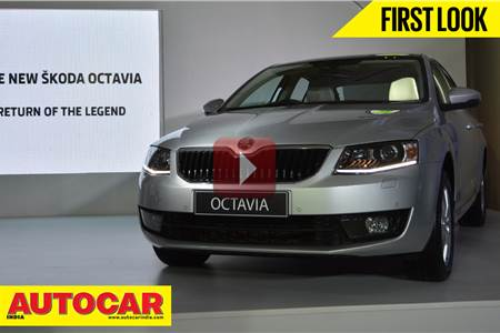 New 2013 Skoda Octavia first look video