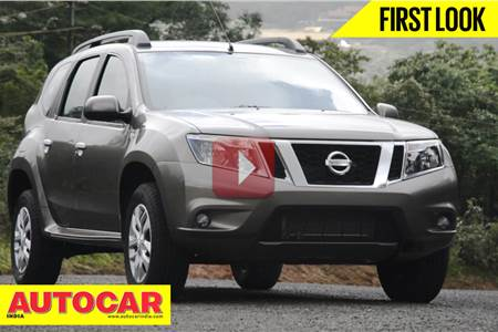 New Nissan Terrano first look video