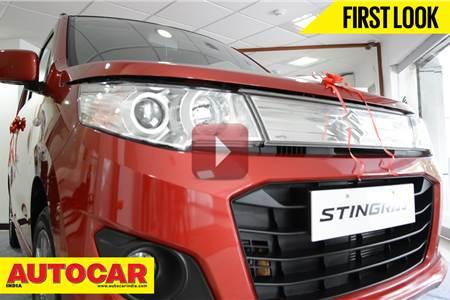 New Maruti Wagon R Stingray first look video
