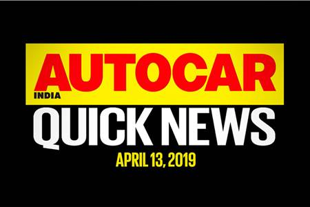 Quick News video: April 13, 2019