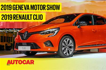 2019 Renault Clio first look video