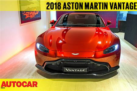 2018 Aston Martin Vantage first look video