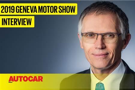 Carlos Tavares, Chairman, Groupe PSA interview at Geneva motor show 2019 video