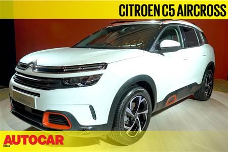 Citroen C5 Aircross first look video