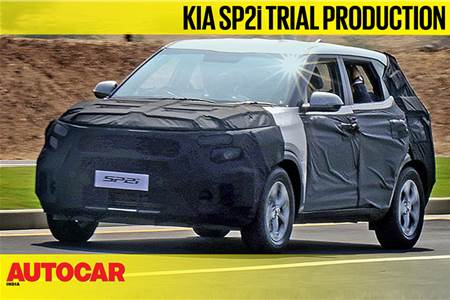 Kia SP2i SUV trial production video