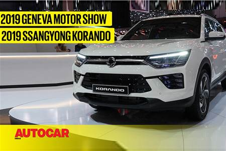 SsangYong Korando first look video