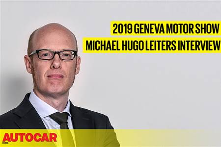 Michael Hugo Leiters, Ferrari interview at Geneva motor show 2019 video