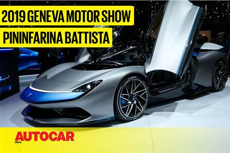 Pininfarina Battista first look video