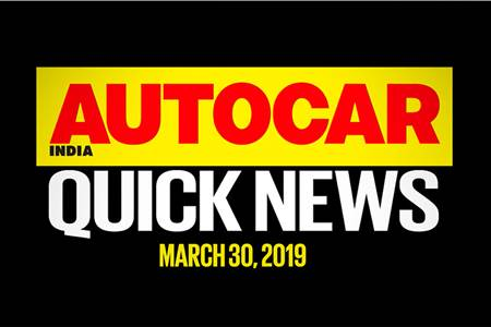 Quick News video: March 30, 2019