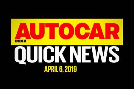 Quick News video: April 6, 2019